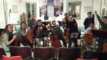 Orchestra di chitarre - prove!