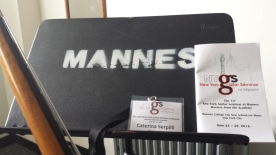 practicing at Mannes