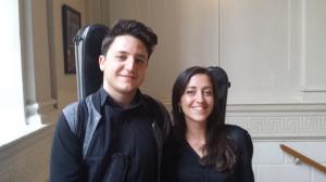 Gian Marco Ciampa, Caterina Serpilli