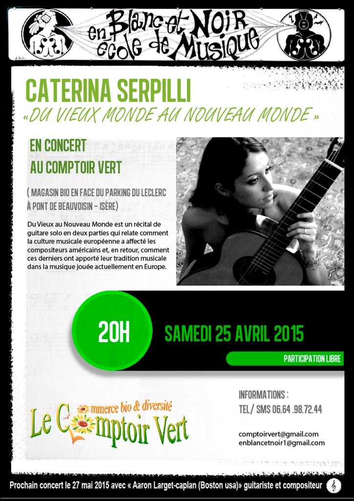 affiche A4 caterina